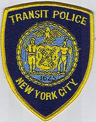 New York City Transit Police 1625 Patch (large)(NY)