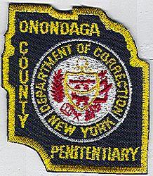 Onondaga Co. Penitentiary Patch (NY)