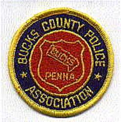 Bucks Co. Police Assoc. Patch (PA)