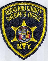 Sheriff: NY, Rockland Co. Sheriffs Office Patch