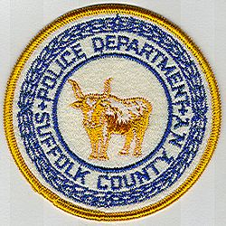 Suffolk Co. Police Patch (round) (NY)