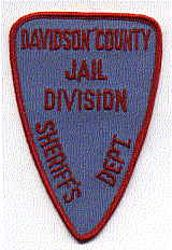 Sheriff: NC, Davidson Co. Sheriffs Dept. Jail Division Patch