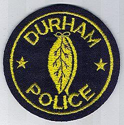 Durham Police Patch (felt) (NC)