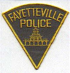 Fayetteville Police Patch (yellow edge) (NC)