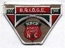 Park: NC, Forest Service B.R.I.D.G.E. Patch