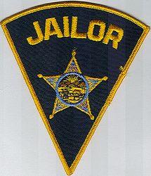 Sheriff: OH, Sheriffs Dept. Jailor Patch