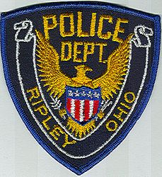 Ripley Police Patch (OH)