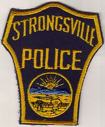 Strongsville Police Patch (sunset) (OH)