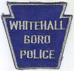 Whitehall Boro Police Patch (blue/gray) (PA)