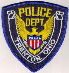 Trenton Police Patch (OH)