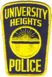 University Heights Police Patch (OH)
