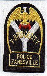 Zanesville Police Patch (OH)