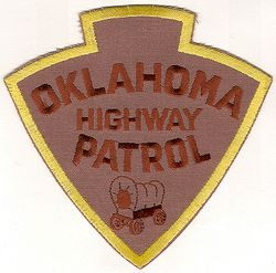 State: OK, Highway Patrol Patch (large)