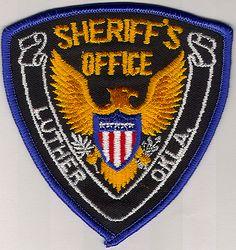 Sheriff: OK, Luther Co. Sheriffs Dept. Patch
