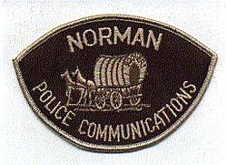 Norman Communications Police Patch (OK)
