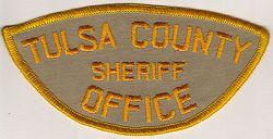 Sheriff: OK, Tulsa Co. Sheriffs Dept. Patch