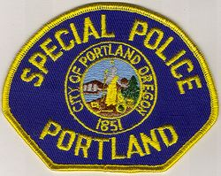 Portland Special Police Patch (OR)