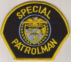 Special Patrolman Patch (OR)