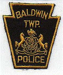 Baldwin Twp. Police Patch (twill) (PA)