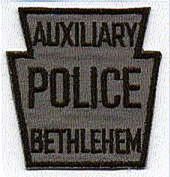 Bethlehem Aux. Police Patch (twill)(PA)