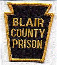 Blair Co. Prison Patch (PA)