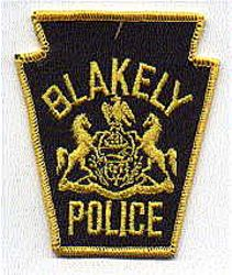 Blakely Police Patch (PA)