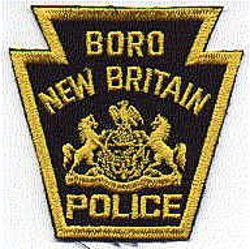 Boro New Britain Police Patch (PA)