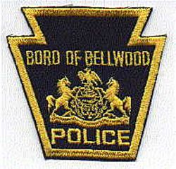 Boro of Bellwood Police Patch (PA)
