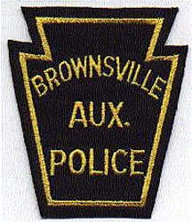 Brownsville Aux. Police Patch (felt) (PA)
