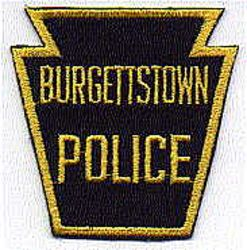Burgettstown Police Patch (PA)