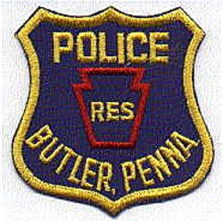 Butler Reserve Police Patch (PA)