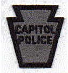 Capitol Police Patch (cap size) (PA)