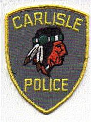 Carlisle Police Patch (right) (PA)