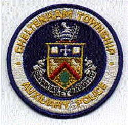 Cheltenham Twp. Aux. Police Patch (round) (PA)