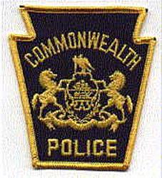 Commonwealth Police Patch (keystone) (PA)