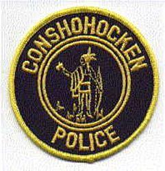 Conshohocken Police Patch (round) (PA)