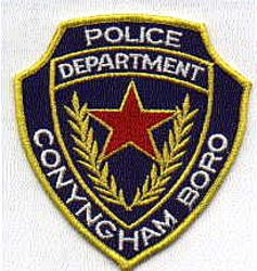 Conyngham Boro Police Patch (PA)