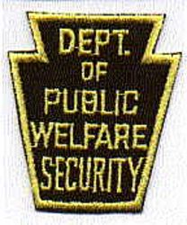 Dept. of Public Welfare Security Patch (PA)