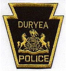Duryea Police Patch (PA)