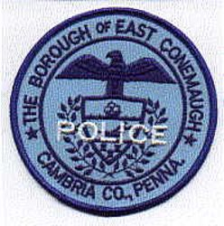 East Conemaugh Police Patch (PA)
