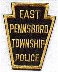 East Pennsboro Twp. Police Patch (gold/black) (PA)