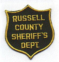 Misc: Russell Co. Sheriffs Dept. Patch