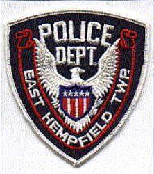 East Hempfield Twp. Police Patch (PA)
