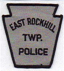 East Rockhill Twp. Police Patch (black) (PA)