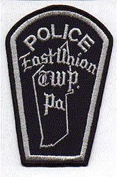 East Union Twp. Police Patch (PA)