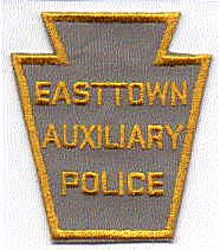 Easttown Aux. Police Patch (gold edge) (PA)