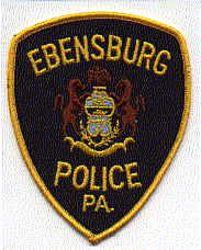 Ebensburg Police Patch (PA)