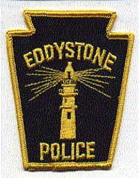Eddystone Police Patch (black/yellow) (PA)