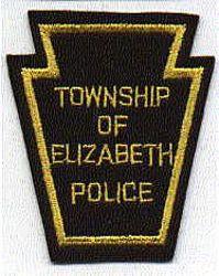 Elizabeth Twp. Police Patch (felt) (PA)