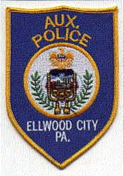 Ellwood City Aux. Police Patch (PA)